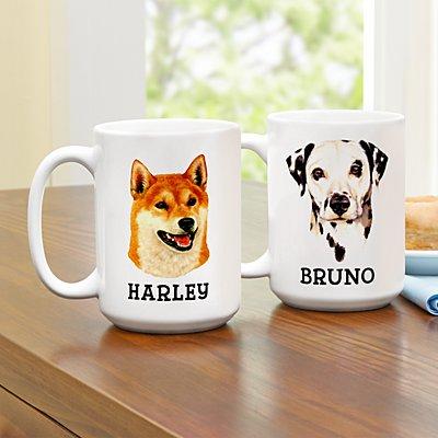Linda Picken Dog Breed Mug