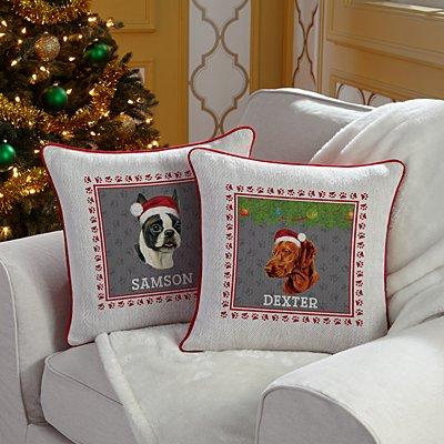 Linda Picken Dog Breed Sofa Cushion