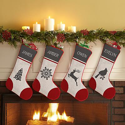 Christmas Charm Stocking