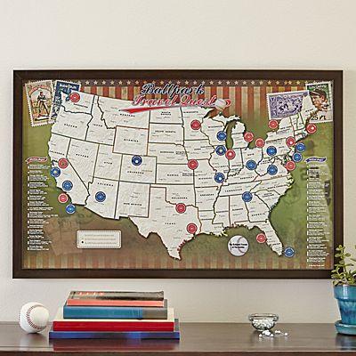 Baseball Park Destination Map