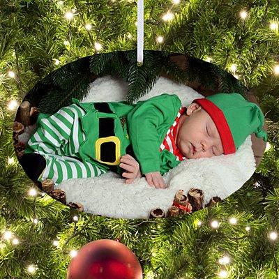 Picture Perfect Photo Oval Ornament