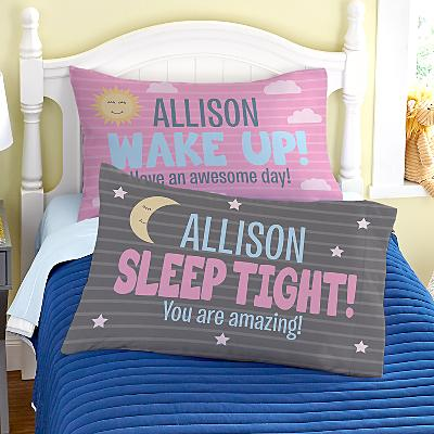 Wake Up! Pillowcases  - Set of 2