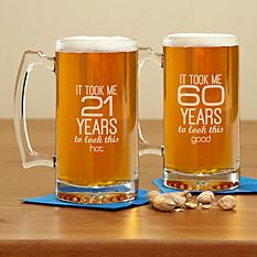 It Took This Long Birthday Oversized Beer Mug