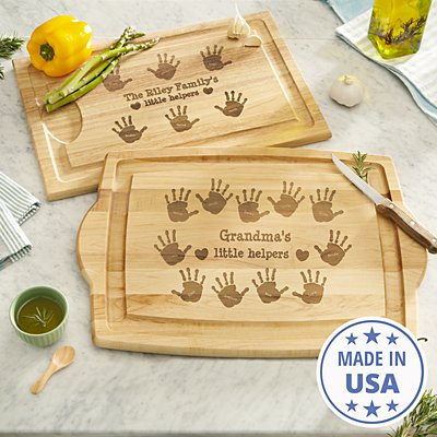 Kitchen Helpers Wood Cutting Board