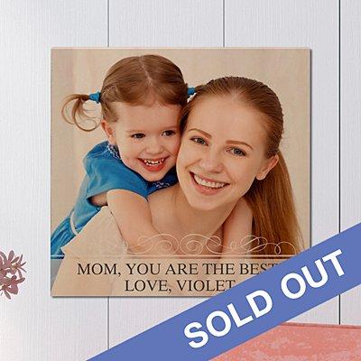 Photo Message Wooden Plaque