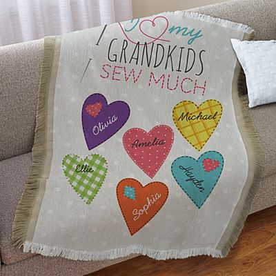 Sew Much Love Throw