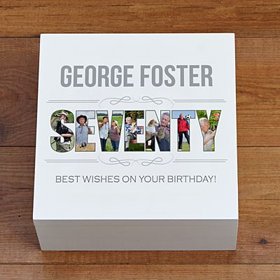 Special Birthday Photo Keepsake Box