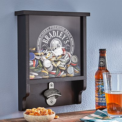 Big Time Brewery Wood Bottle Cap Opener