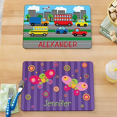 Mealtime Fun Kids Placemats