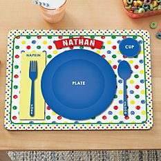 Place Setting Kids Placemat