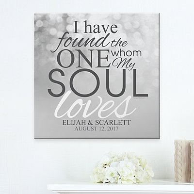 The One My Soul Loves Canvas
