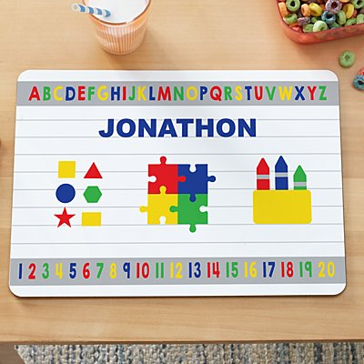 ABC 123 Kids Placemat