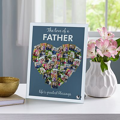 From The Heart Glass Photo Frame