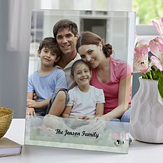Picture Perfect Photo Glass Frame