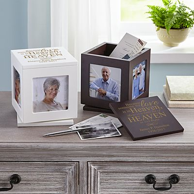 For Loved Ones In Heaven Rotating Keepsake Box