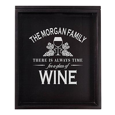 Wine Cork Display Box - Wine Time