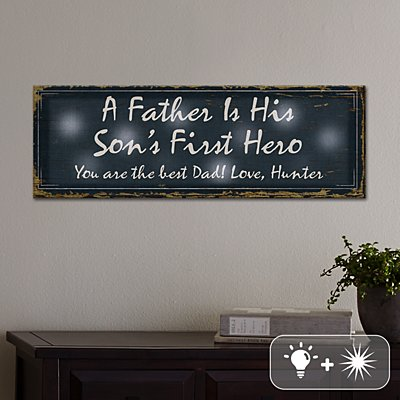 TwinkleBright® LED First Memories Eternal Light Canvas