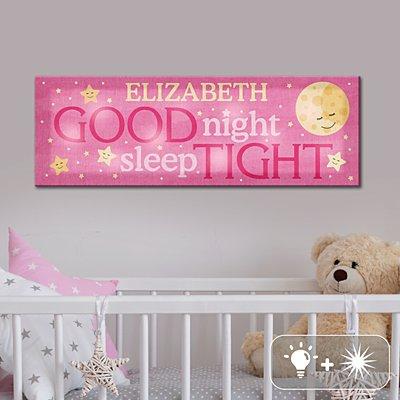 TwinkleBright® LED Sleep Well Baby Canvas