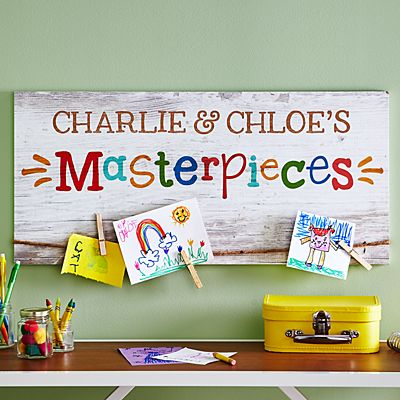 Kids Masterpiece Artwork Holder