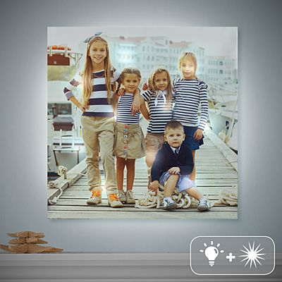 TwinkleBright® LED Photo Canvas