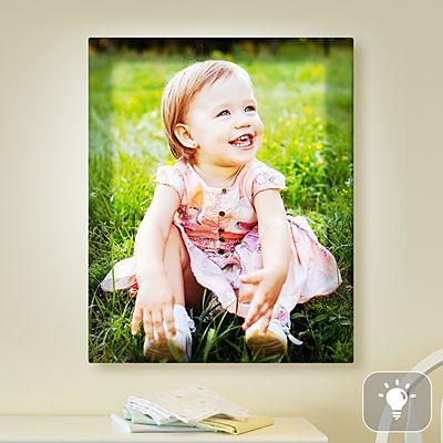 Kids Photo Lighted Canvas
