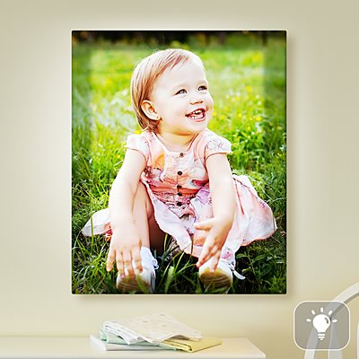 Kids Photo Lighted Canvas