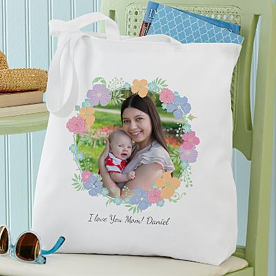 Floral Photo Tote