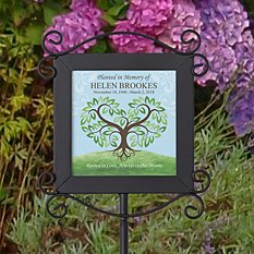 Rooted in Love Memorial Garden Stake