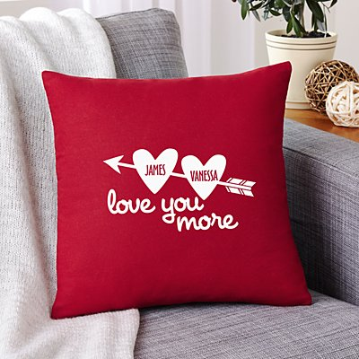 Love You More Sofa Cushion