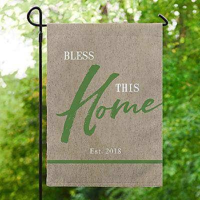 Our Home is Blessed Garden Flag