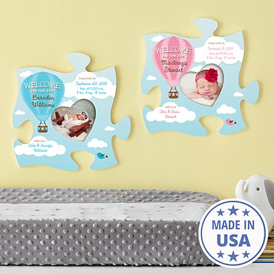 Up Up & Away Puzzle Piece