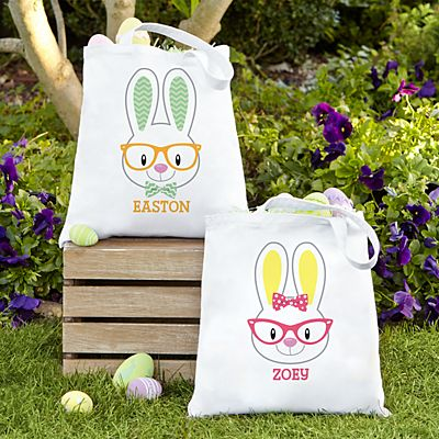 Smart Bunny Easter Tote Bag