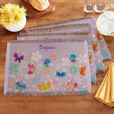 Spring Butterflies Placemats