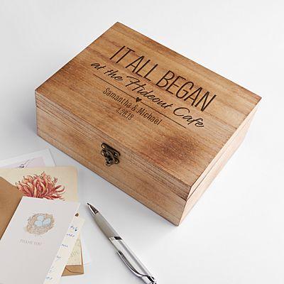 Where It All Began Memento Box