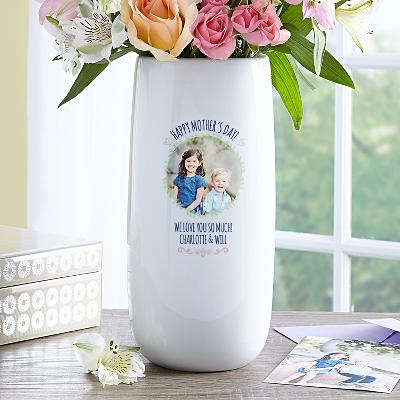 Love Blooms Photo Vase