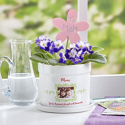 Picture Perfect Photo Flower Pot