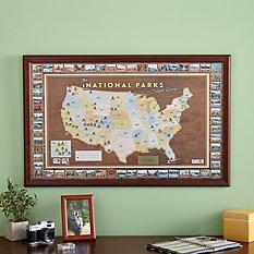 National Parks Destination Map