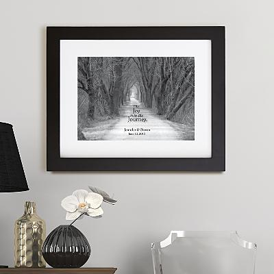 The Joy is the Journey Framed Print