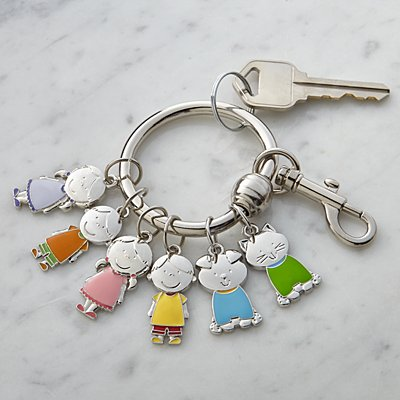 Tender Hearts Character Charm Key Ring