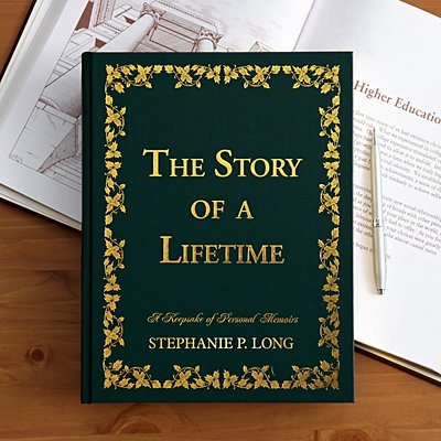 Green Leatherette Story of a Lifetime