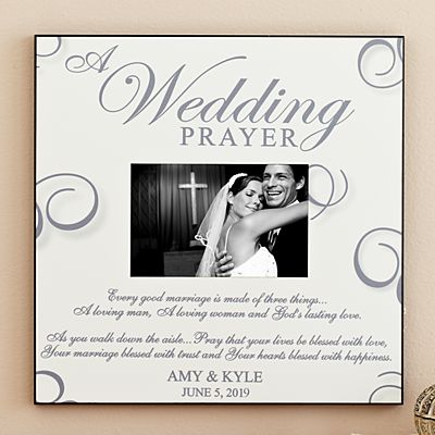 A Wedding Prayer Frame