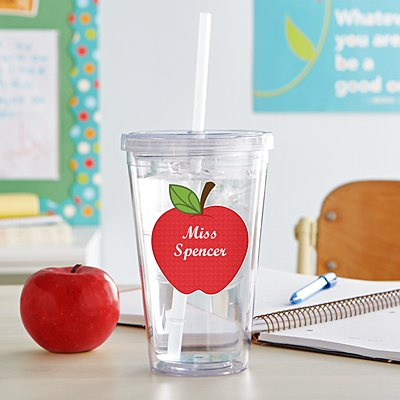 Apple for Teacher Tumbler