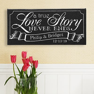 A True Love Story Canvas
