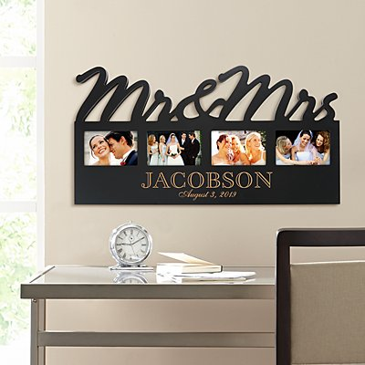 Mr. & Mrs. Frame Plaque