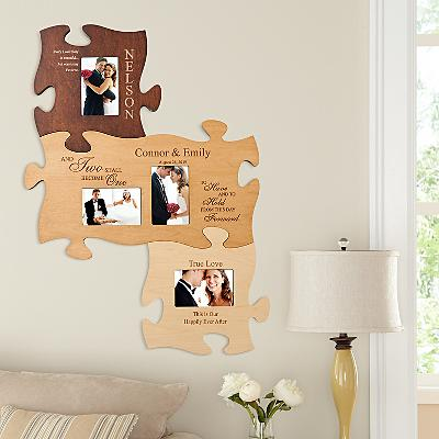 Wedding Photo Puzzle Frame