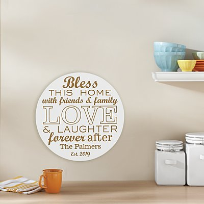 This Home is Filled with Love Plaque