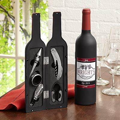 5 Piece Wine Lovers Tool Set