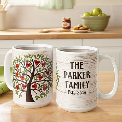 Family Tree of Hearts Mug