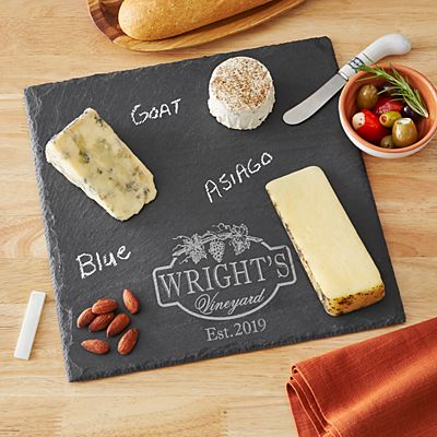 Vineyard Slate Serving Board