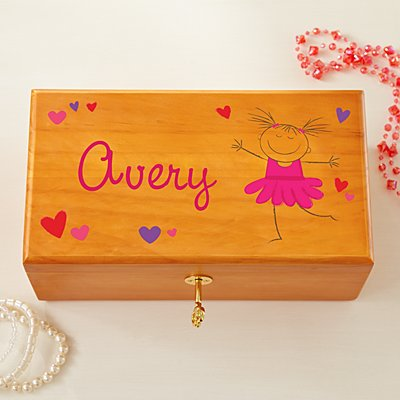 Happy Dancer Jewelry Box